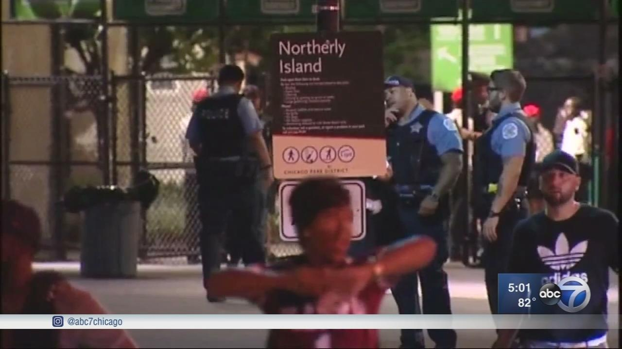 2 stabbed at Northerly Island concert