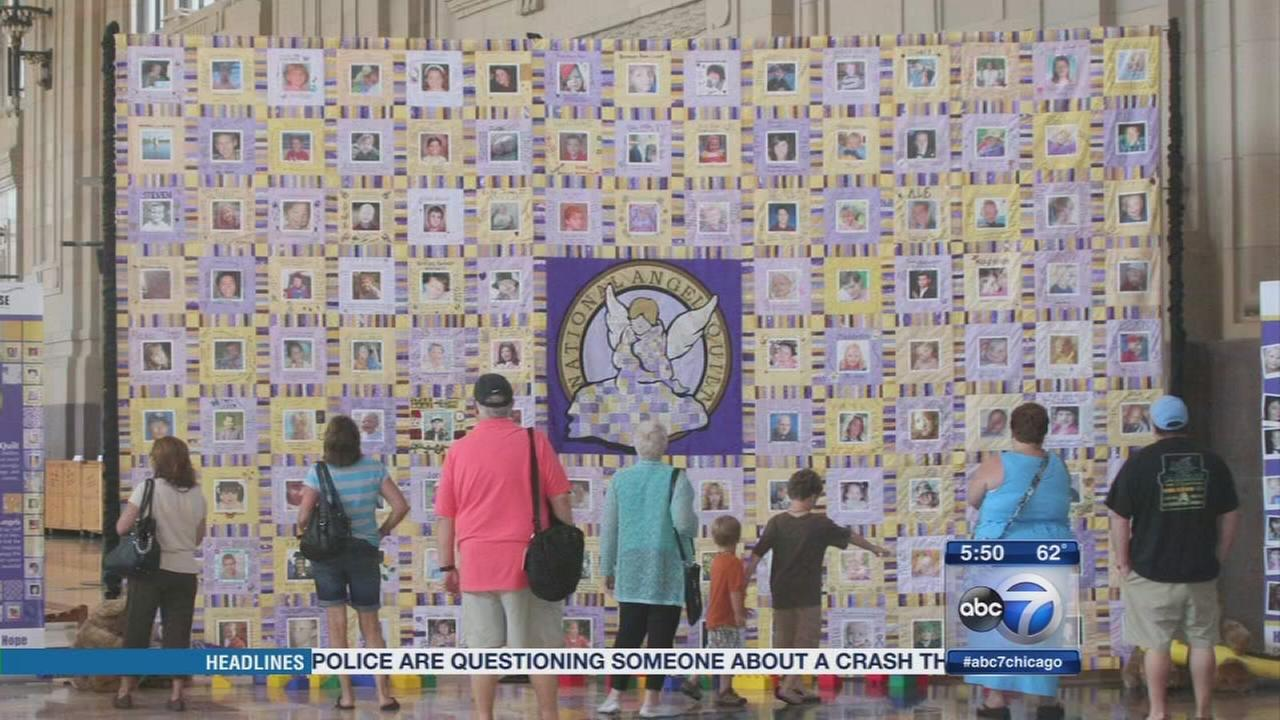 National Angel Quilt visits Chicago area