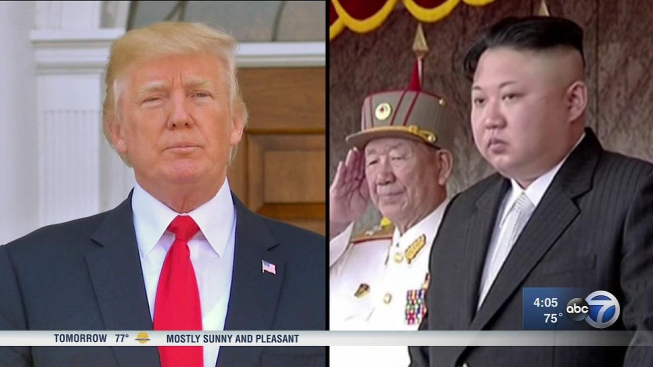 NKorea will regret it fast if acts against US ally, Trump says