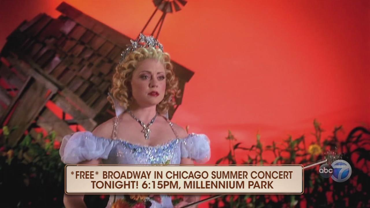 Broadway in Chicago?s free summer concert