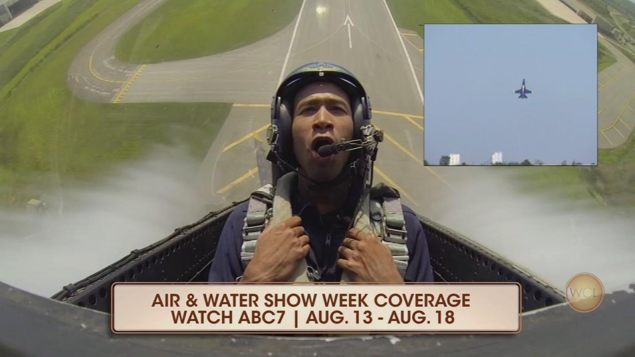 ABC7 previews Chicago Air and Water Show
