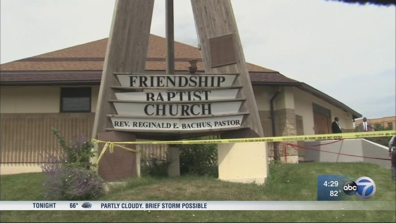 2 shot outside West Side church