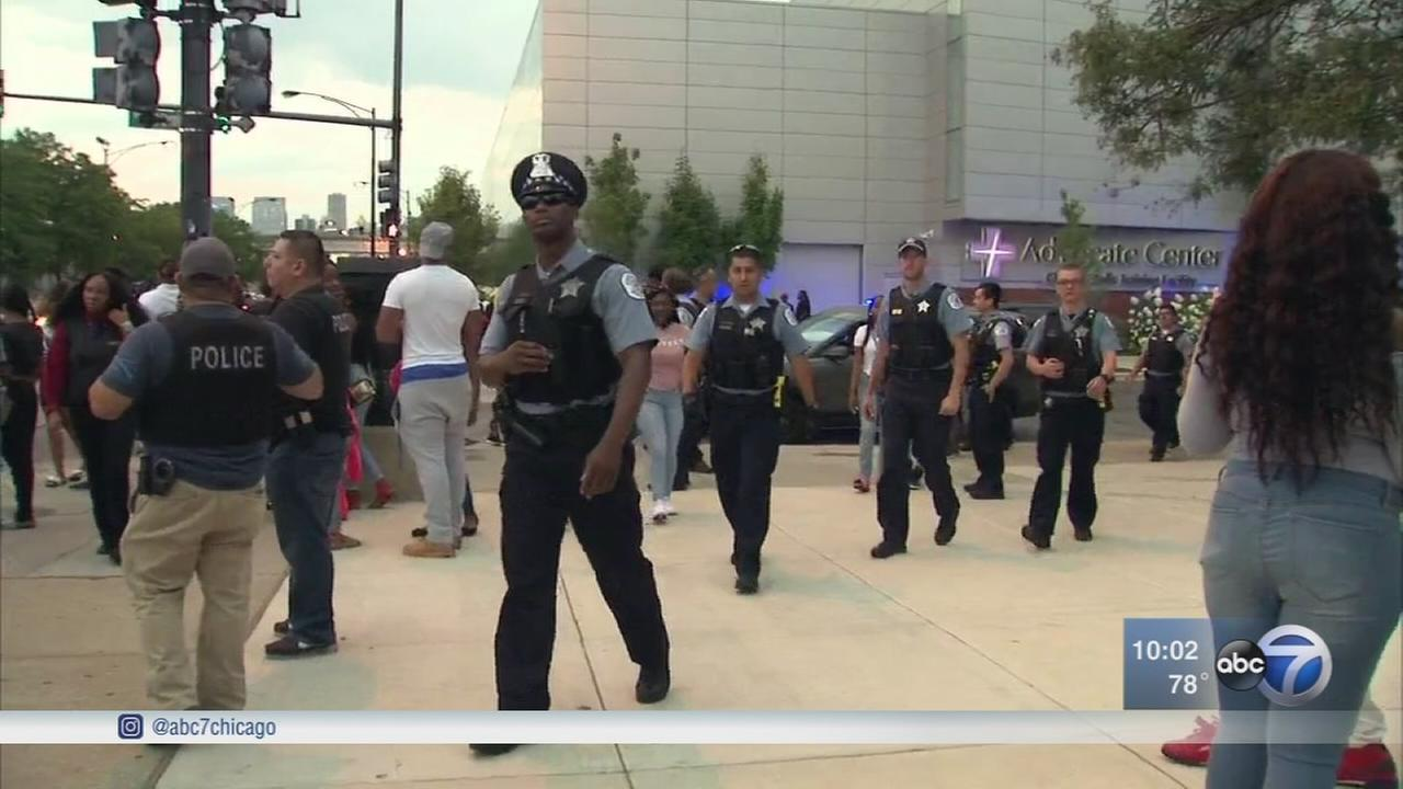 United Center evacuated after fights during basketball championship game