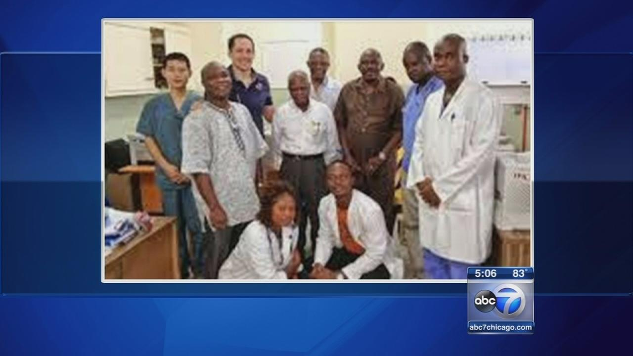 Chicago doctors personal ties to Ebola outbreak