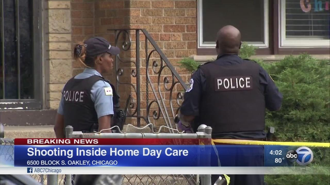 17-year-old shoots himself at home day care