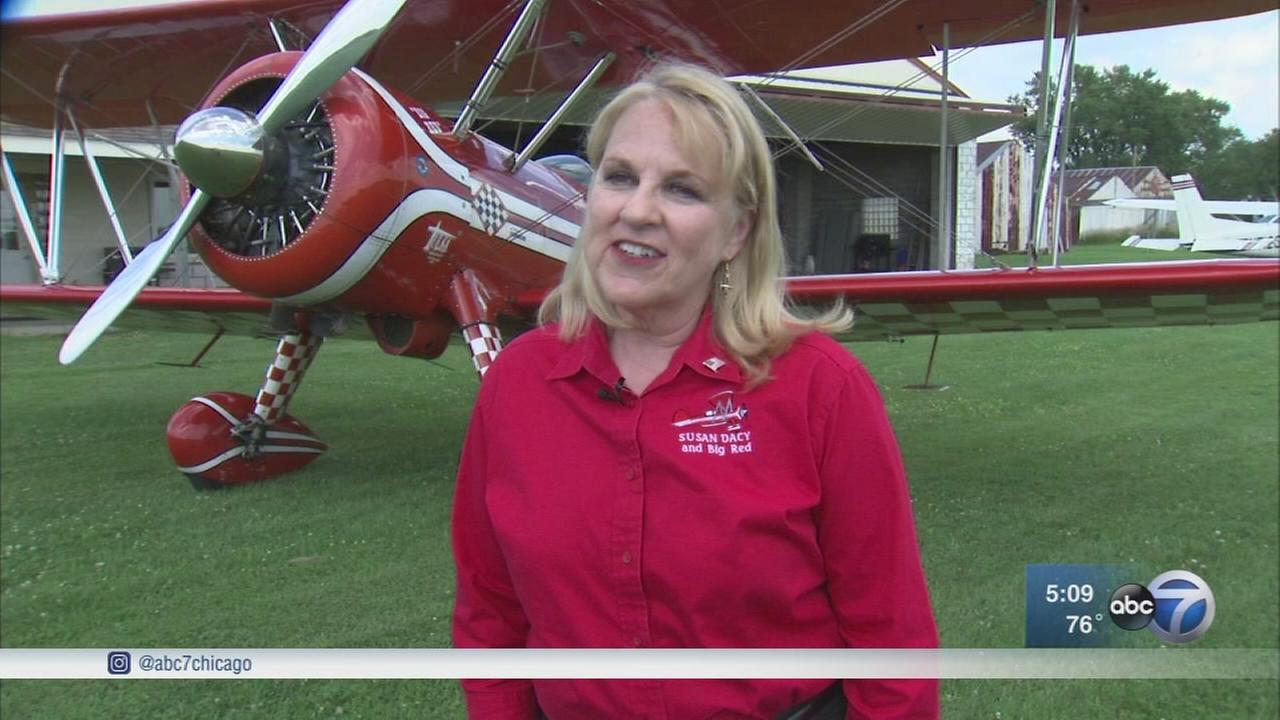 Meet Susan Dacy: The only female pilot in Chicagos Air and Water Show