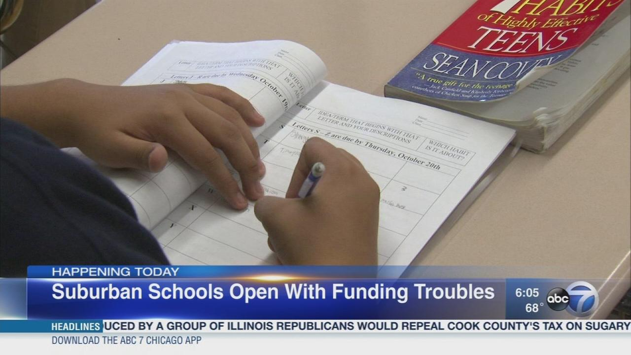 Future of funding uncertain for many Illinois schools
