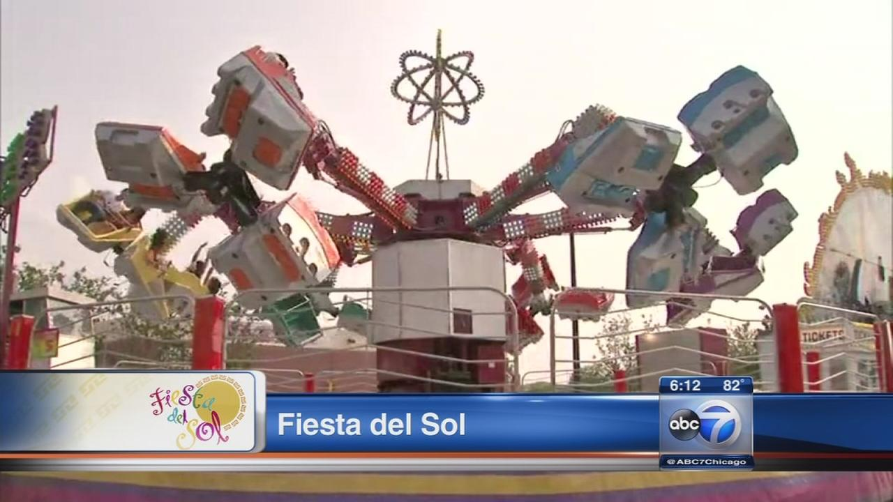 Fiesta Del Sol underway in Pilsen