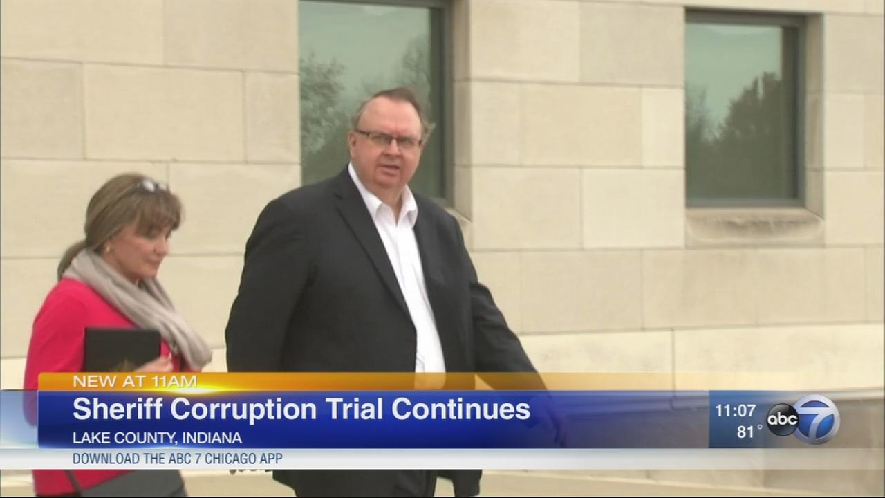 Trial of Lake County sheriff continues