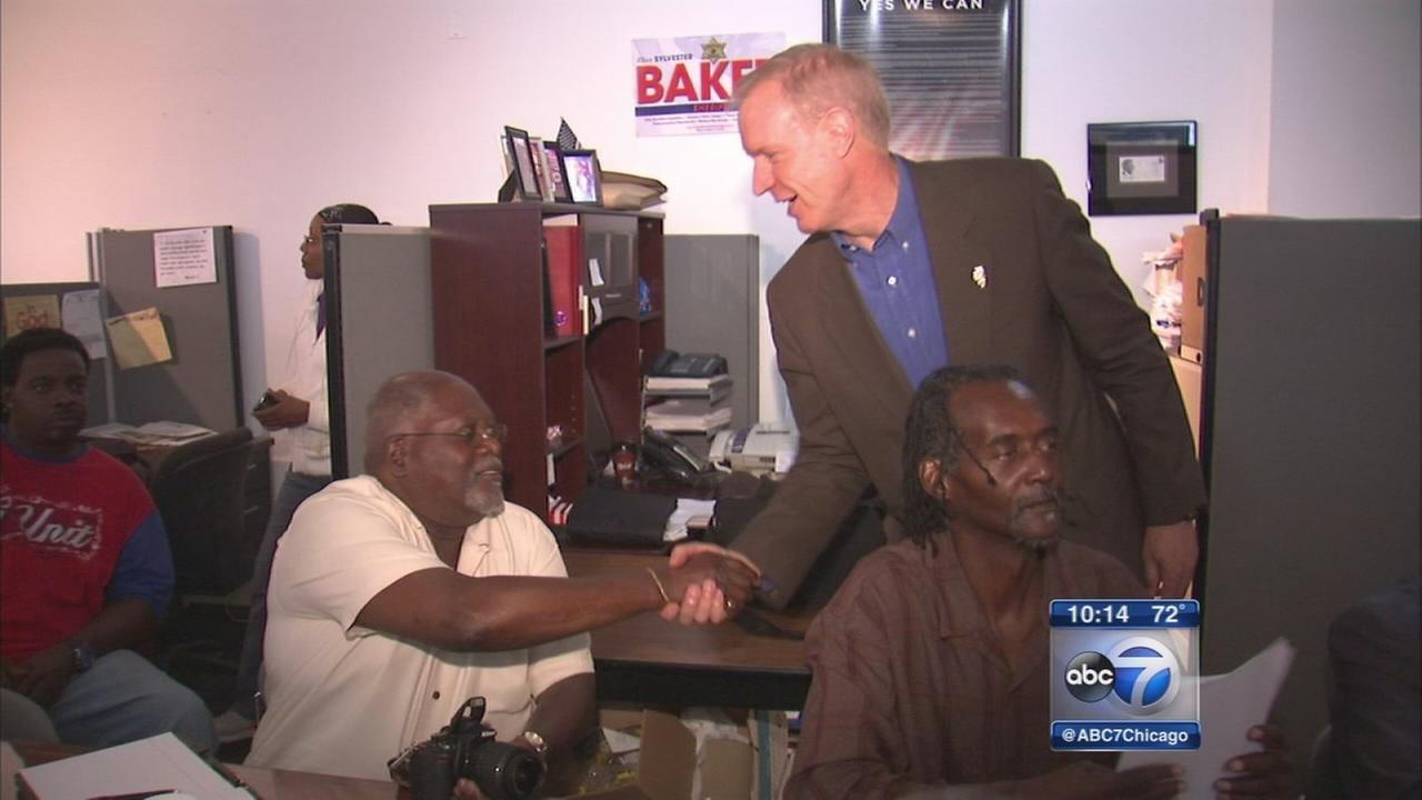 Rauner promises $1M to South Side credit union