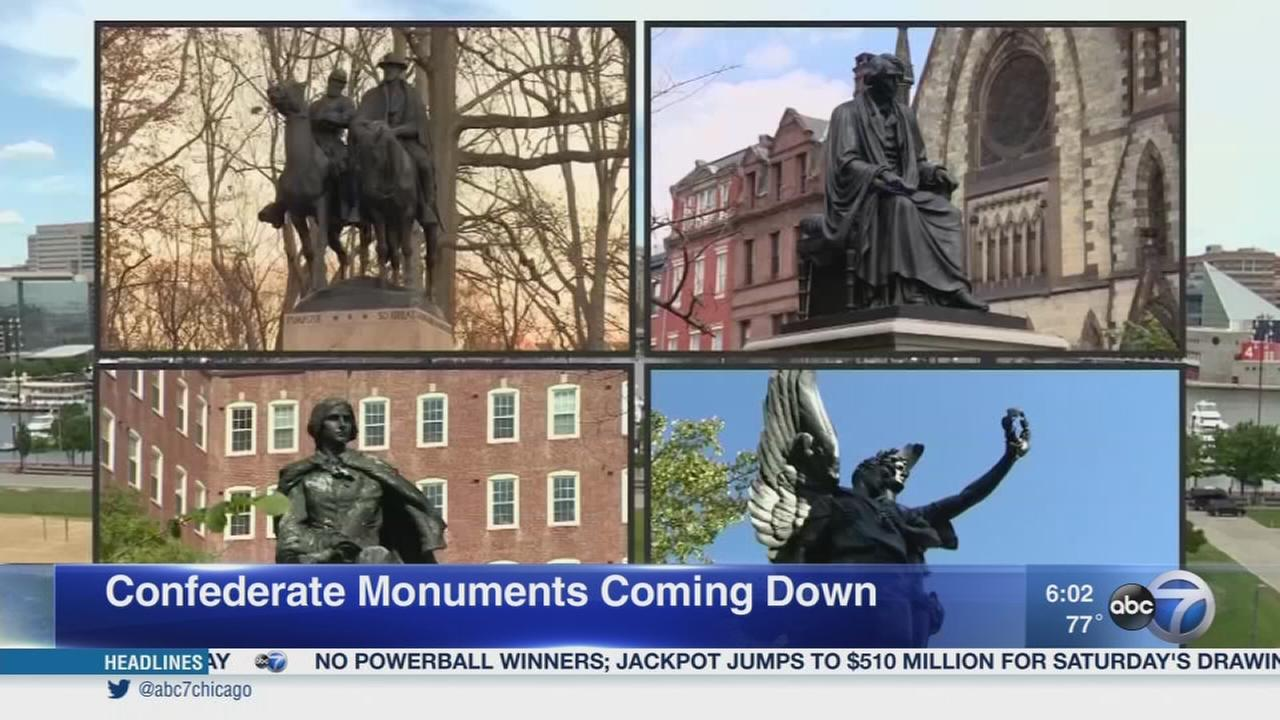 Push to remove confederate monuments renewed