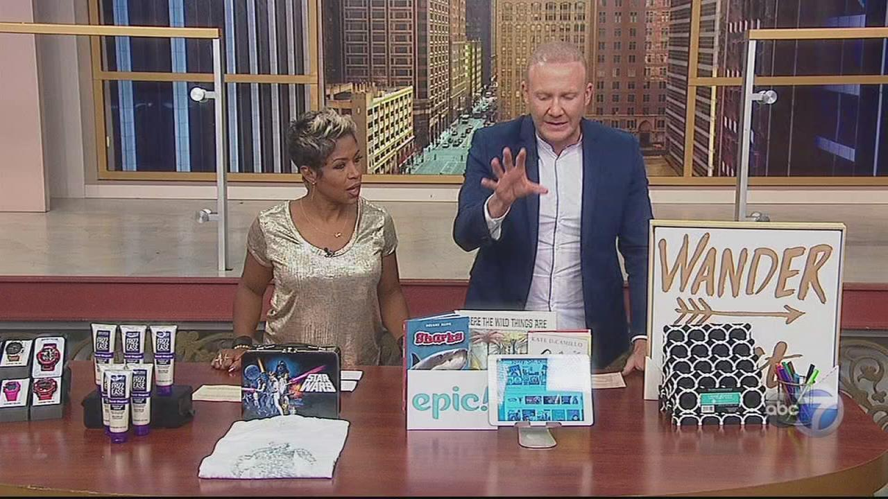 Josh McBride shows off back to school trends