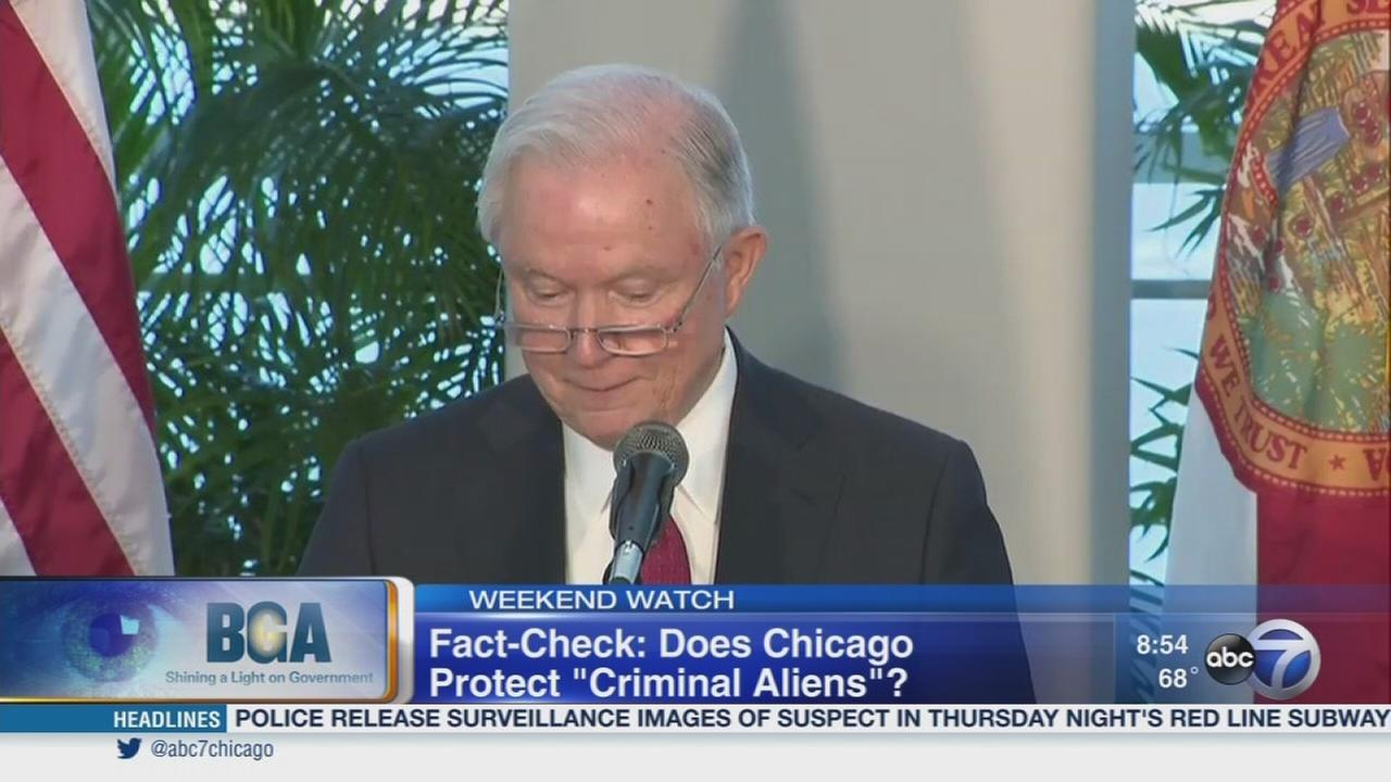 Weekend Watch: Fact checking Jeff Sessions? Chicago comments
