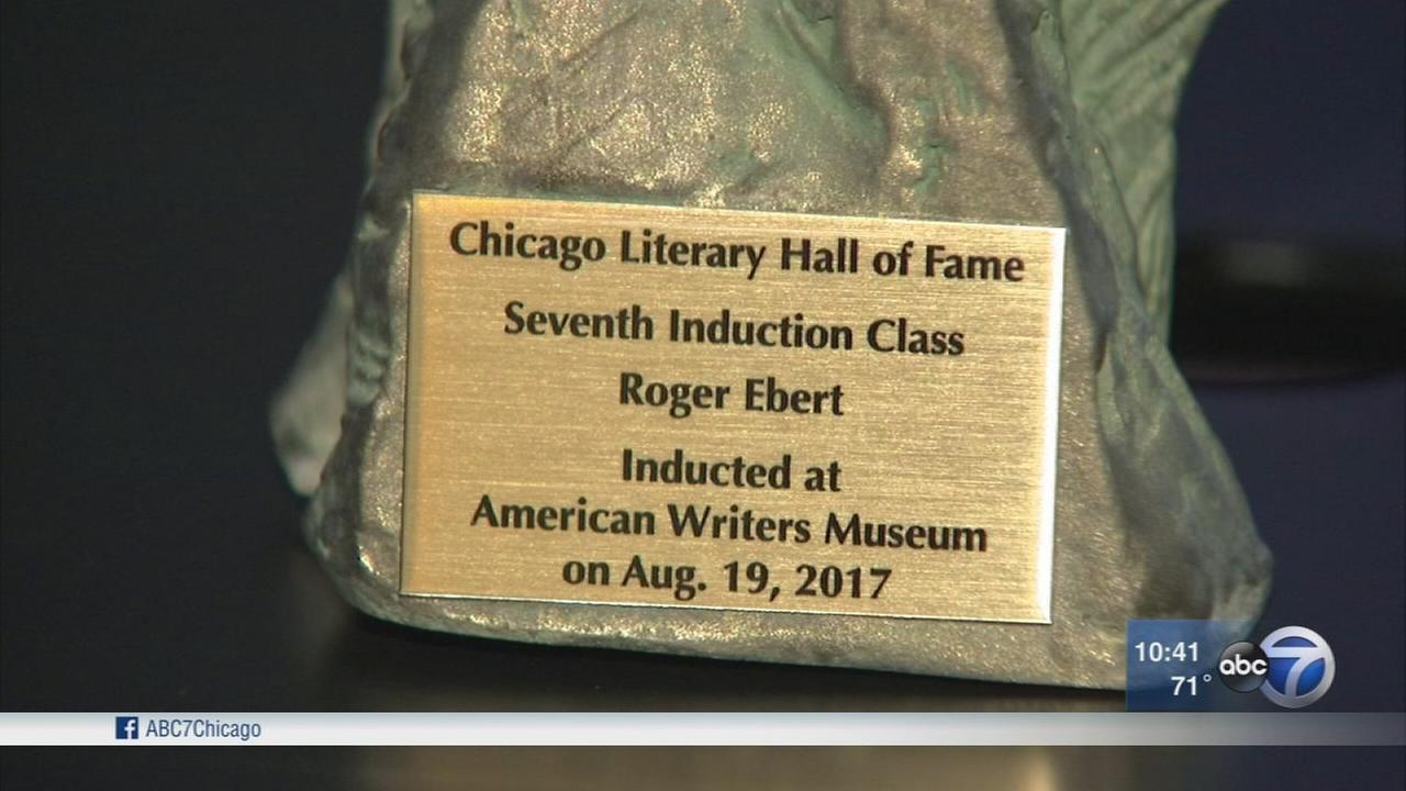 Roger Ebert inducted in Literary Hall of Fame