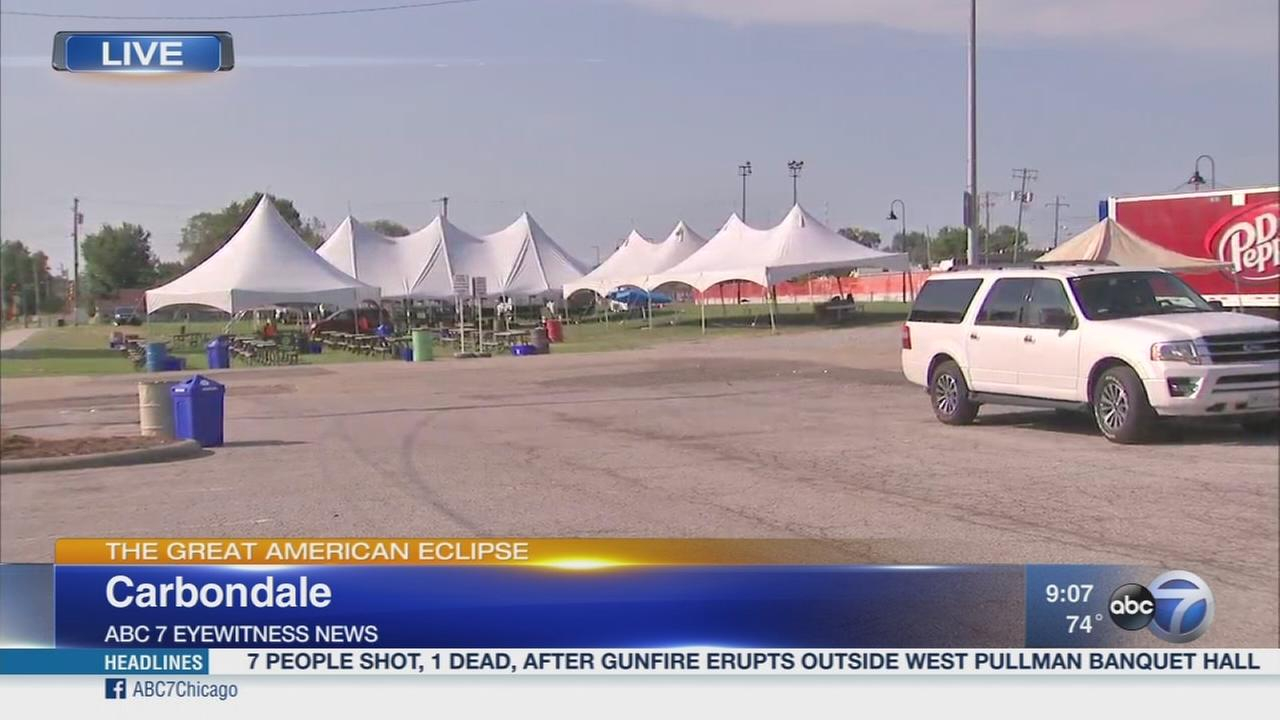 Carbondale prepares for eclipse watchers