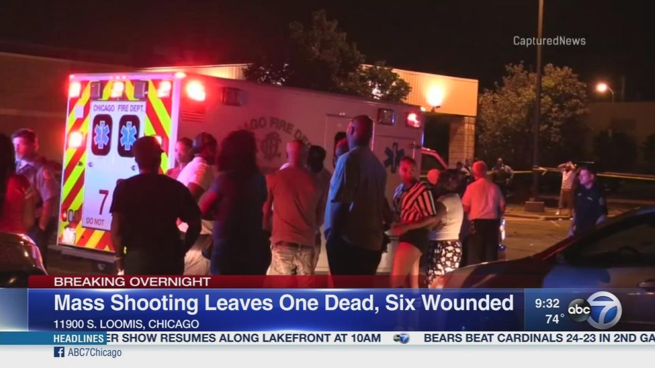 1 dead, 6 wounded in West Pullman shooting