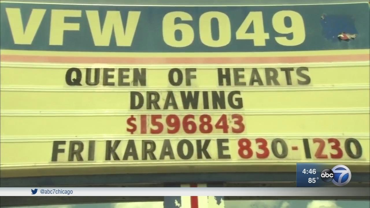 Queen of Hearts raffle suspended by Morris VFW