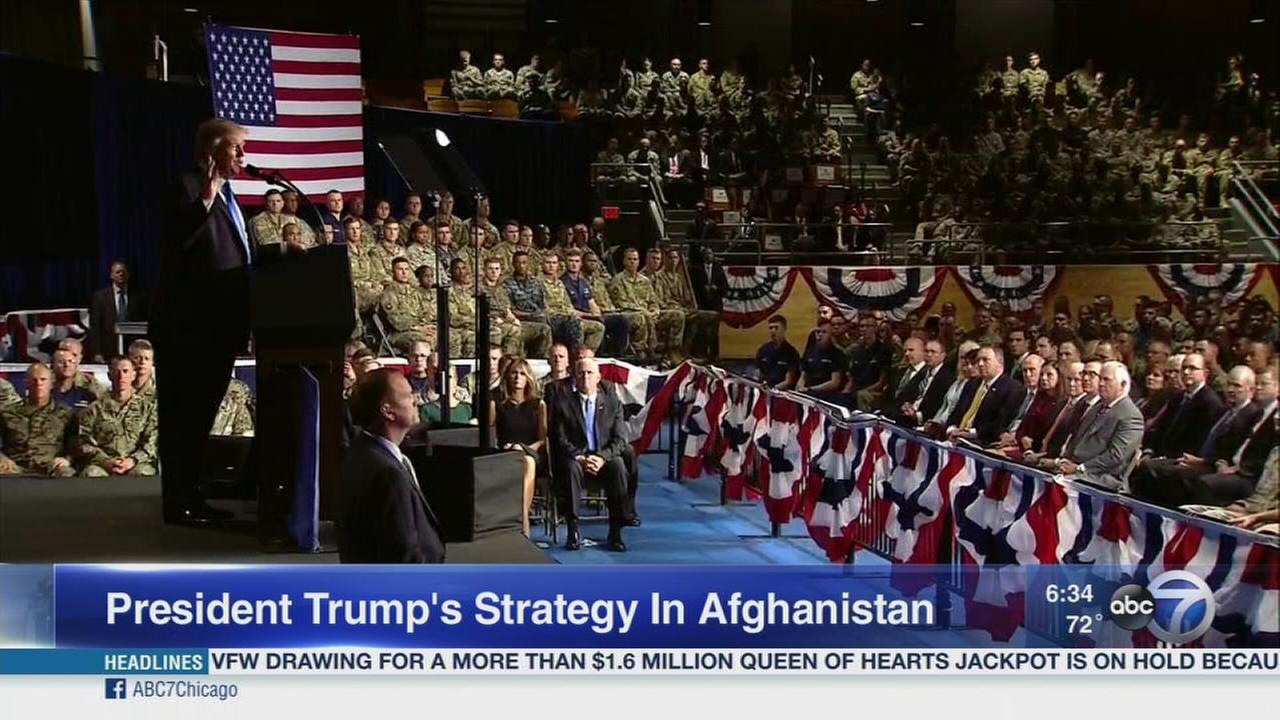 Trump renews Afghan commitment