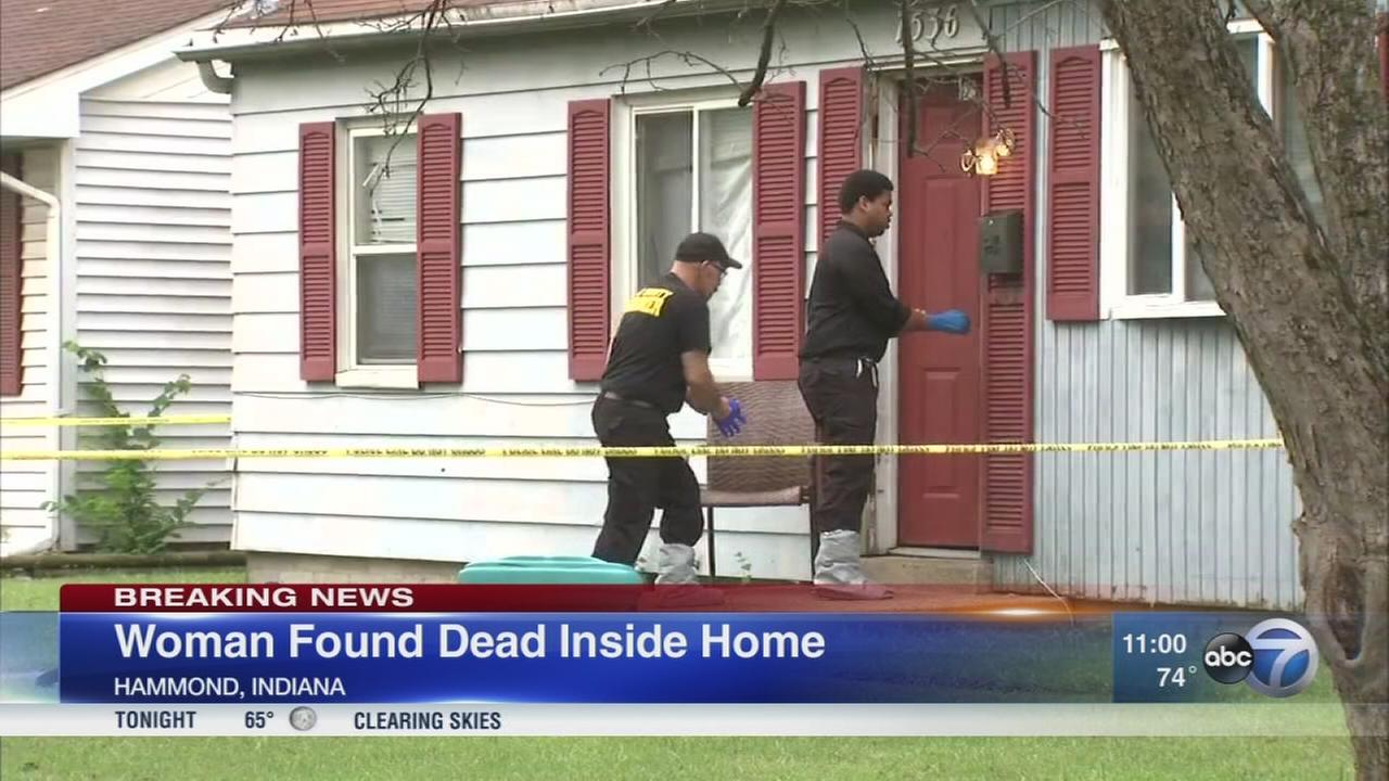 Woman found stabbed in Hammond home