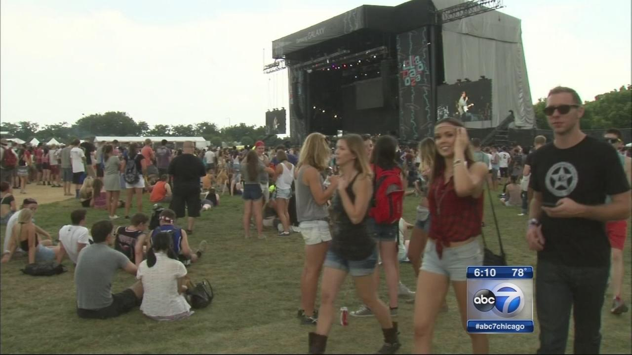 Lollapalooza kicks off in Grant Park
