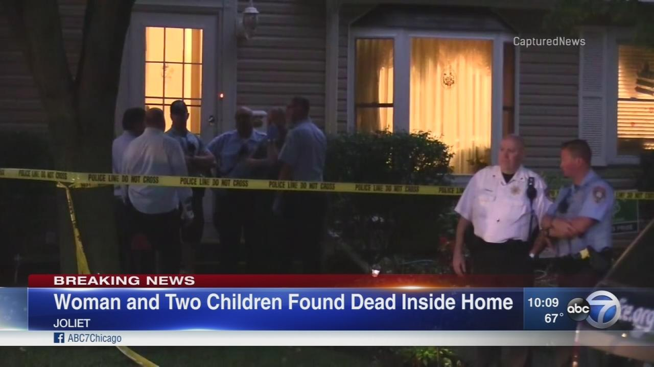 Joliet police: Women, 2 children dead in apparent murder-suicide