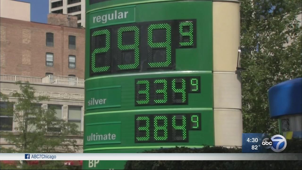 Harvey to push gas prices higher through Labor Day