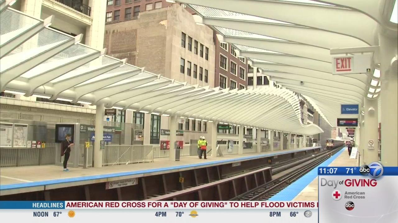 New Washington and Wabash CTA stop opens