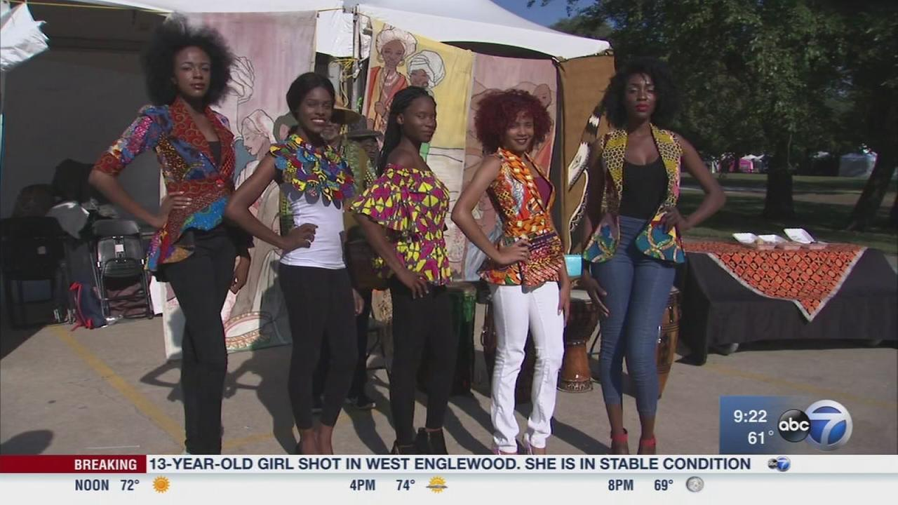 Celebrating culture at the African Festival of the Arts