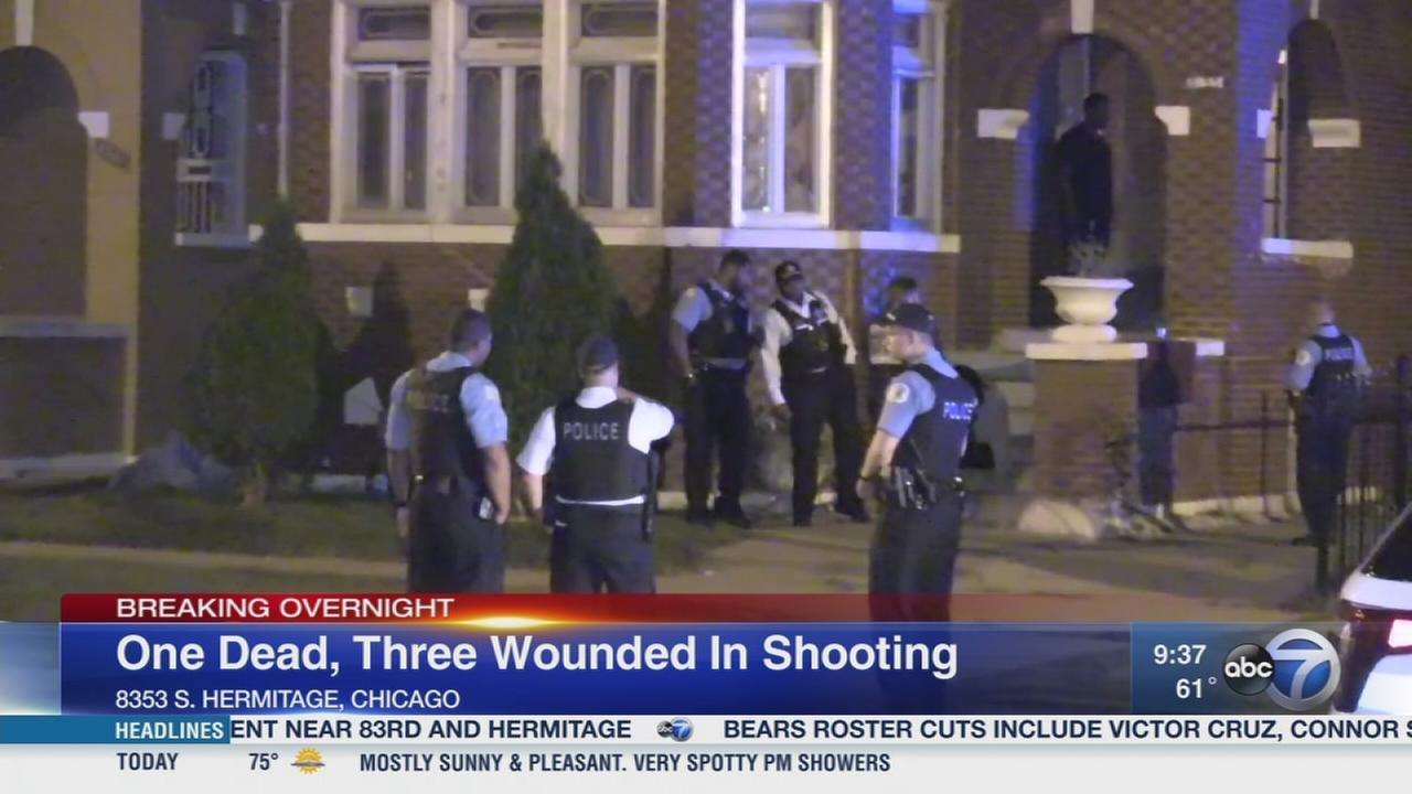 1 killed, 3 wounded in Auburn Gresham shooting