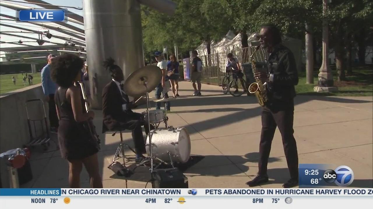 Groove to the music at the Chicago Jazz Festival