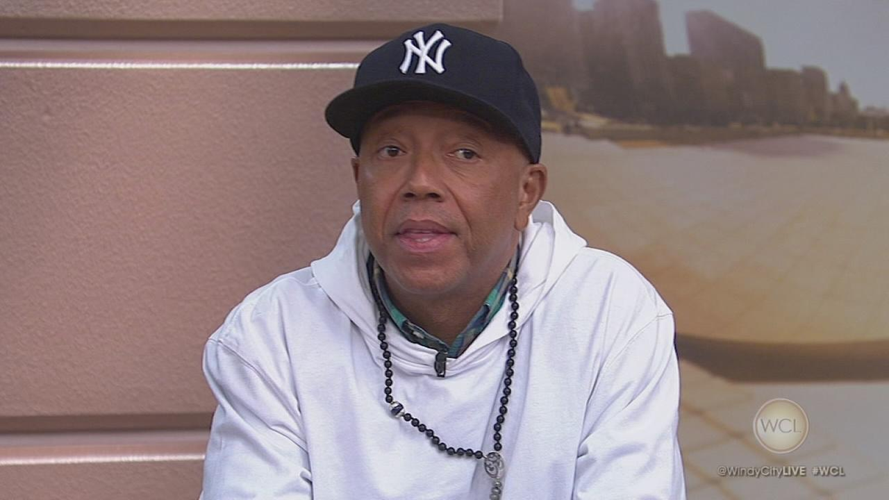 Russell Simmons promotes non-violence in Chicago