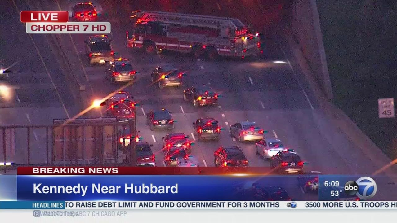 Kennedy crashes snarl traffic