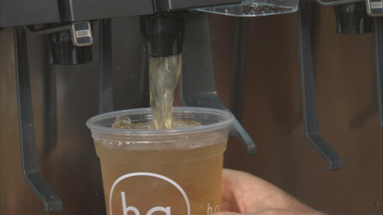 Extra Course: Natural sodas at Honeygrow