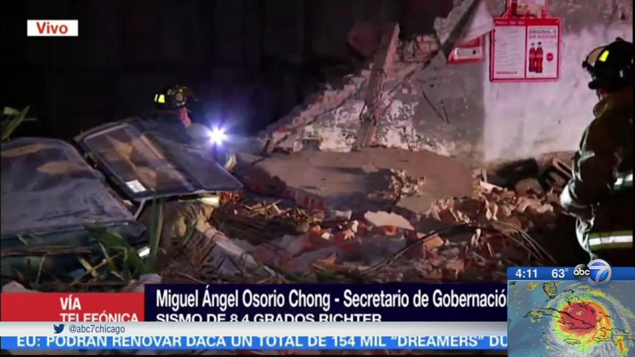 Death toll rises after Mexico earthquake