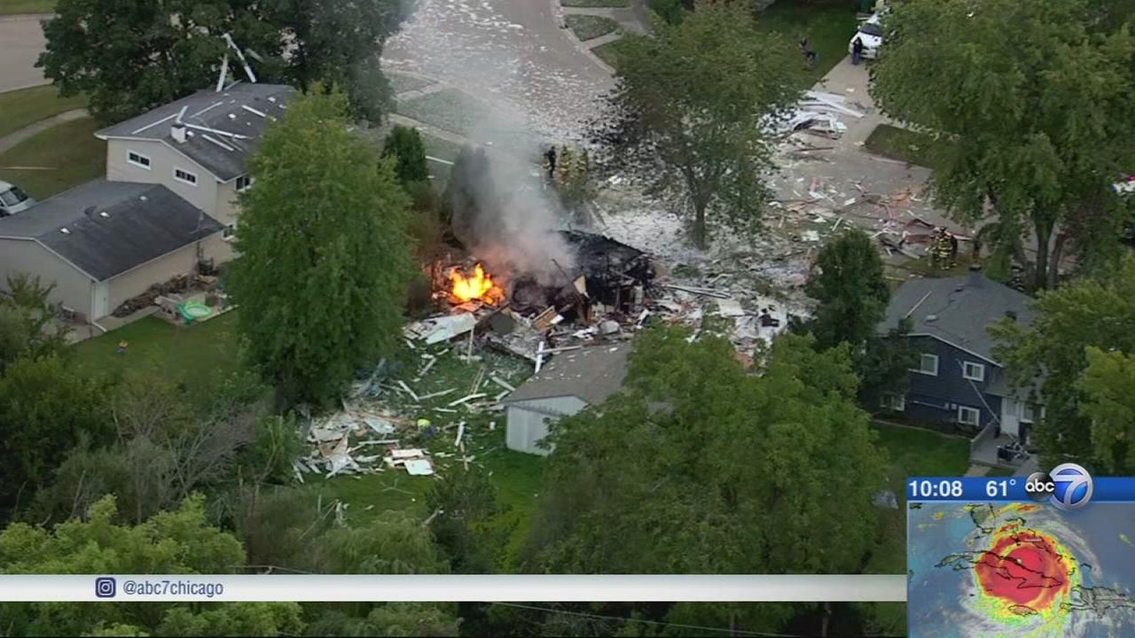 Body found in rubble of house explosion in Gurnee