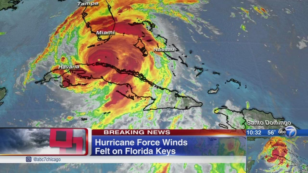 Hurricane Irma track targets Tampa, Florida