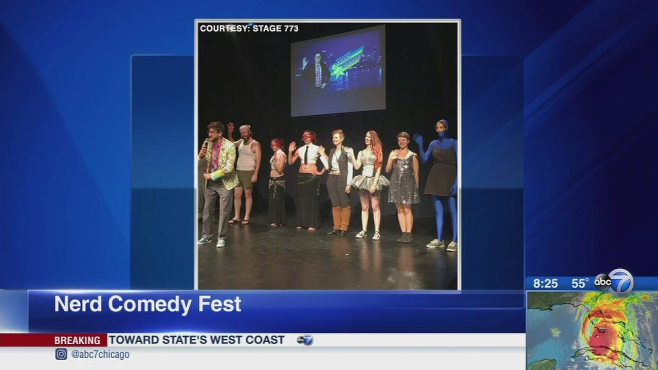 Geek out at the 5th annual Nerd Comedy Festival
