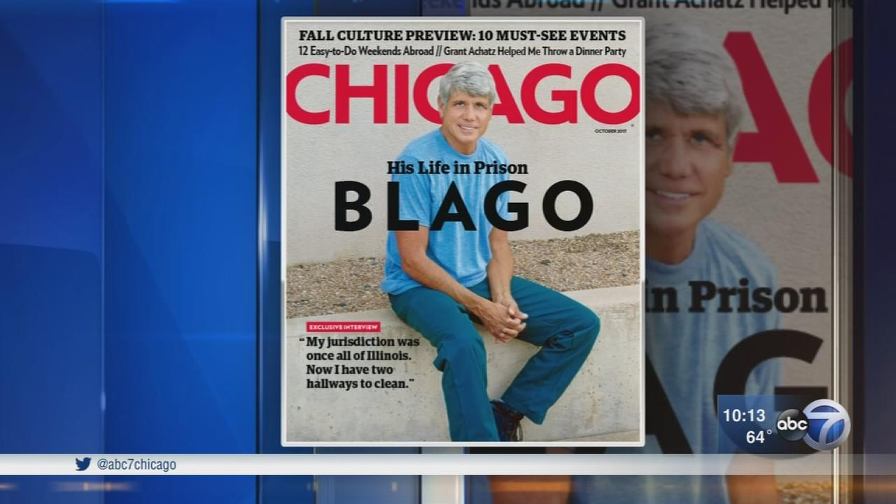 Rod Blagojevich gives first prison interview to Chicago Magazine