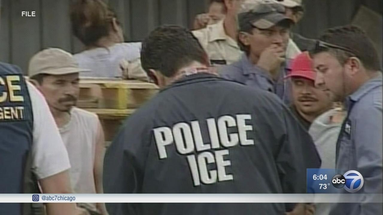 Immigrant groups seek information about ICE raids