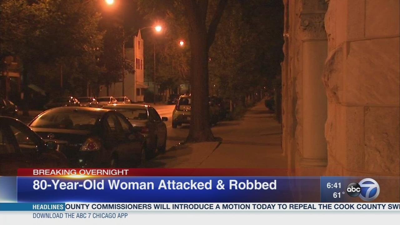 Elderly woman robbed in Lincoln Park
