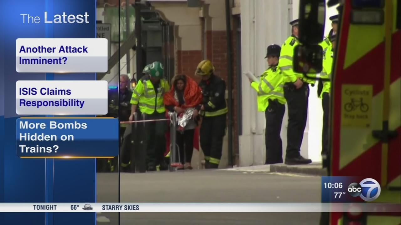 London police: Manhunt underway after 29 hurt in subway terror attack