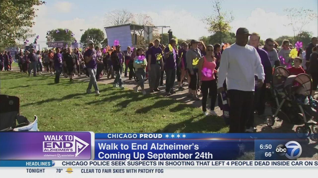 Register now for the Chicago Walk to End Alzheimers