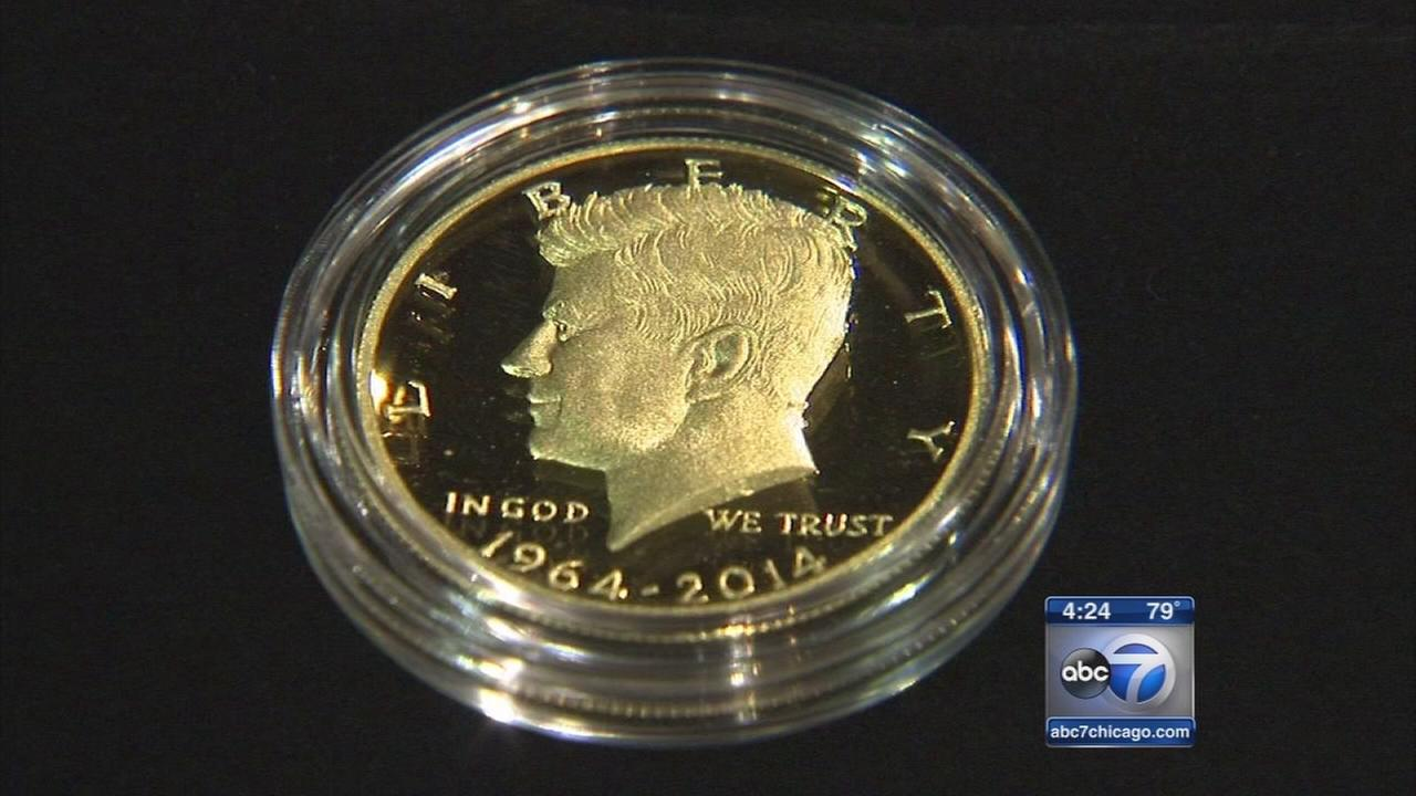 Limited release gold coins on sale in Rosemont