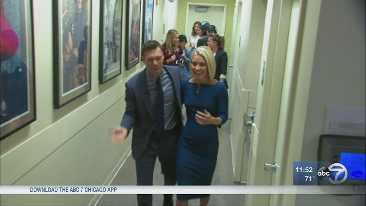 Behind the scenes at Live with Kelly and Ryan
