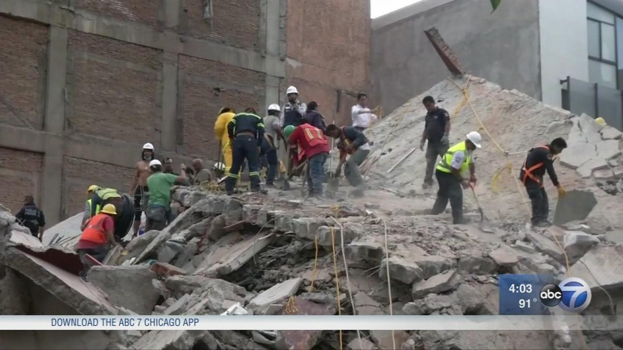 Mexico quake kills 223; children trapped in collapsed school