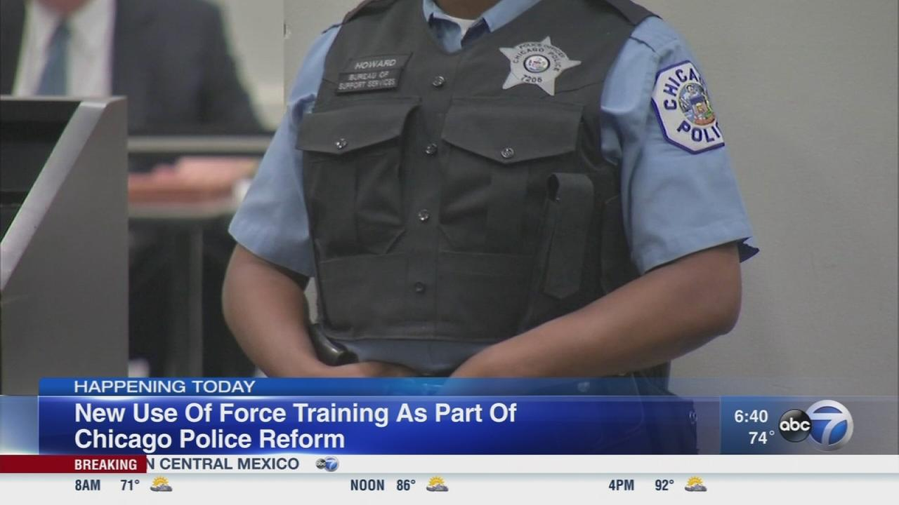 CPD to outline new use of force training