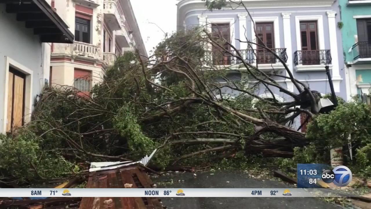 Hurricane Maria stuns Puerto Rico