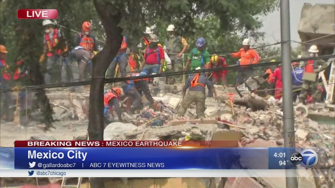 Mexico earthquake leaves at least 245 dead, over 2,000 injured