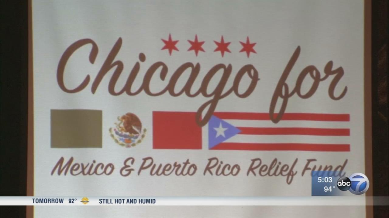 Chicagoans combine efforts to help disaster victims in Mexico, Puerto Rico