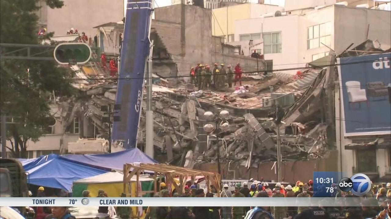 2 aftershocks hit jittery Mexico